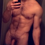 Nude Muscle Man With A Big Cock
