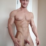Nude Muscle Boy With A Ripped Body