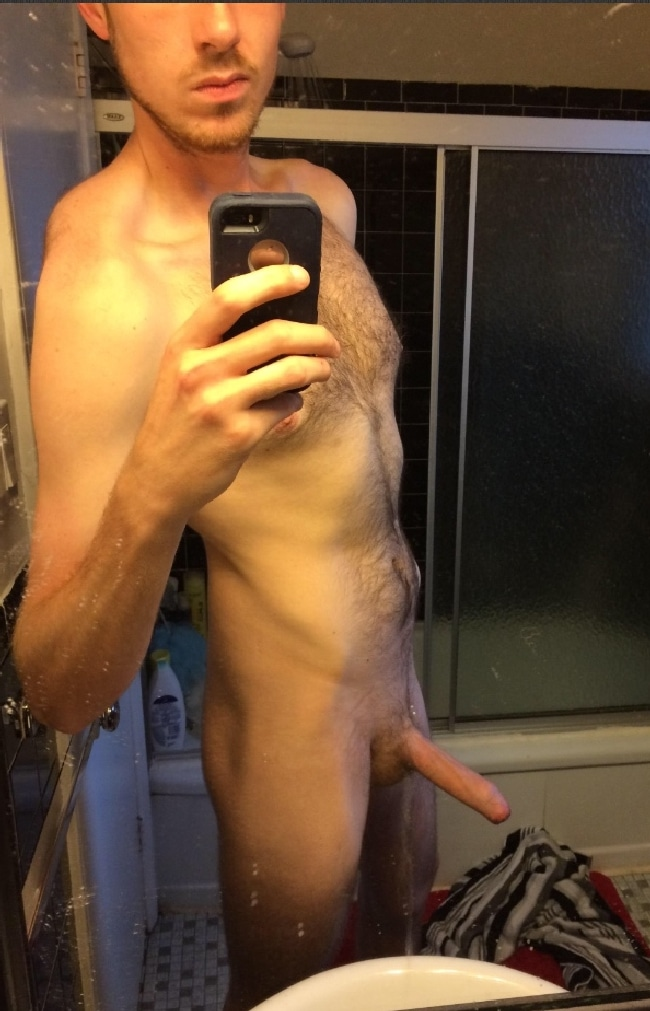 Thin Uncut Cock